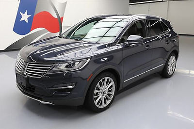 2015 Lincoln MKC Base Sport Utility 4-Door 2015 LINCOLN MKC ECOBOOST PANO ROOF NAV LEATHER 26K MI #J15365 Texas Direct Auto