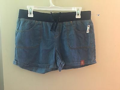 New Arizona Jean Co. Blue Jean Size 16 1/2 Plus Girls Shorts