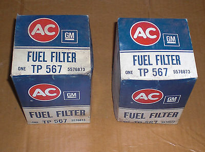 AC TP 567 Oil Filters (2) International Harvester Mack Peterbilt Euclid