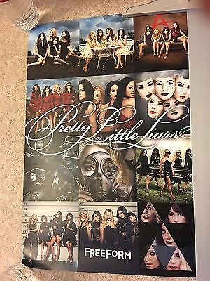 Pretty Little Liars Season 7 Endgame Poster 14x21 Rare Promo Paleyfest 2017