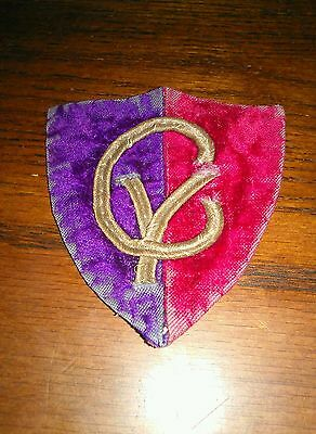 WWI 38th Division Bouillon Patch