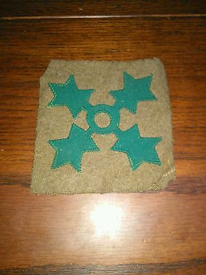 WWI 4th Infantry Patch* Wool and Felt*