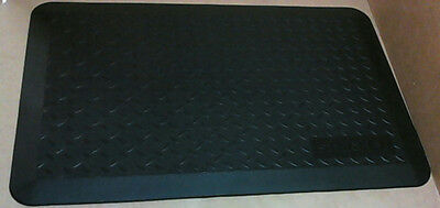 """NEW Stanley Home & Office Utility Mat 20"""" x 30"""" Black"""