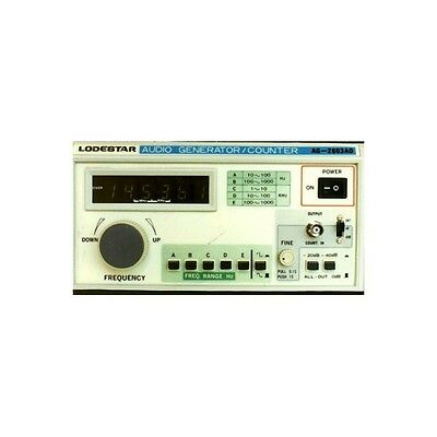Audio RF Signal Generator Frequency Counter 10Hz - 1 MHz Lodestar AG-2603AD