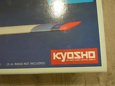 Details about  KYOSHO Serenade 1500 Airplane Plane Radio Remote Control Model G
