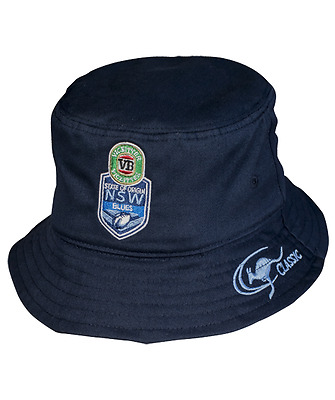 New South Wales Blues State Of Origin 2017 Supporters Bucket Hat/Cap! NRL
