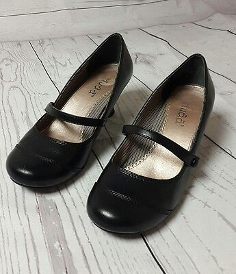 Pre-owned Women's Size 7 1/2 Black Mary Jane Shoes by Mudd