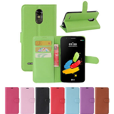 PU Leather wallet stand flip Case Cover For LG Stylus 2 Stylo 3 4 V20 V30 G6 G7