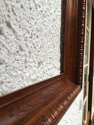 Antique Vintage Australian 1910s Edwardian timber oak picture frame - RESTORED