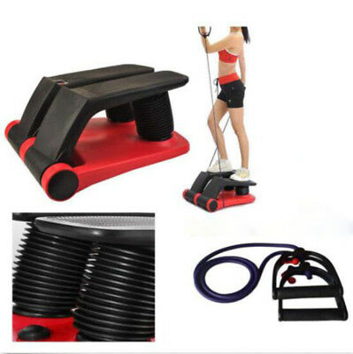 Exercise!New Air Stepper Climber Fitness Machine Resistant Cord Safe and Durable