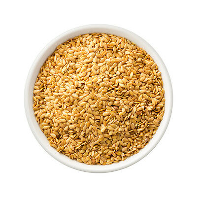 Gluten Free Ingredients Organic Golden Linseed 3kg Natural Bulk Wholesale