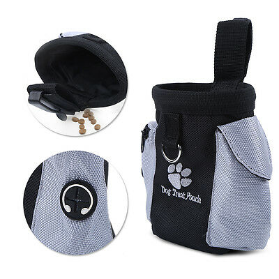 Dog Puppy Pet Training Bag Treat Waist Belt Bait Pouch Food Carry Bag Waterproof