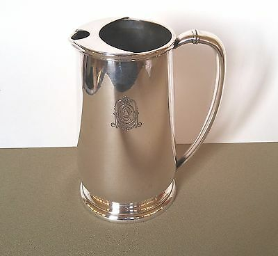 Antique Hotel Silverplate Pitcher Omaha Athletic Club Victor Silver Co