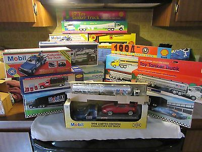 Collection of ToyTankers (16) Lights & Sounds Hess, Mobile, Shoprite, Shell, BP