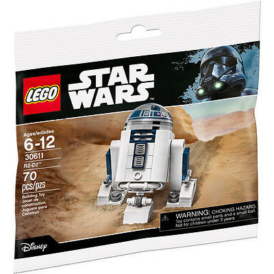 LEGO R2-D2 Star Wars Polybag May the Fourth 30611 - Sealed