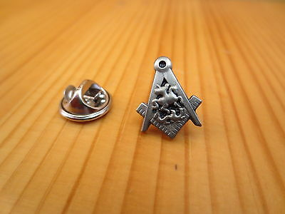 Masonic Mini Lapel Pins Badge Mason Freemason B42 Knight antique silver