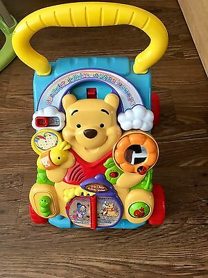 Vtech Winne The Pooh Play And Learn Walker