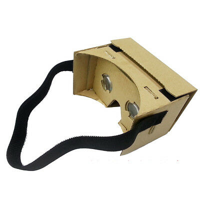 1Pcs Popular Black Head Strap Mount For Google Cardboard 3D VR Virtual Glasses