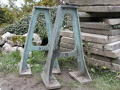 Industrial Cast Iron Table Legs - Yorkshire Dales Reclaim