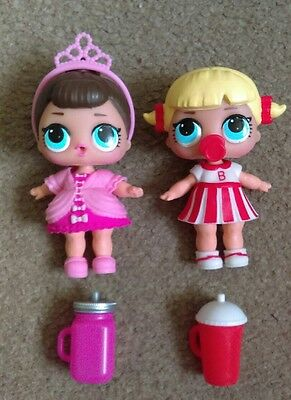 2 x LOL DOLLS - Fancy and Cheer Captain