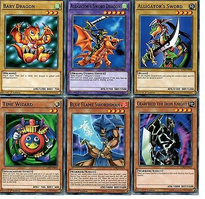 Baby Dragon SET OF 6 Common Limited Edition Yugioh Cards LDK2-ENJ09 1st