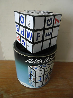 RUBIKS CALENDAR in Excellent Condition in Original Box