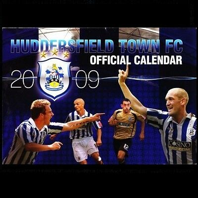 HUDDERSFIELD TOWN official calendar 2009 - quite rare! **FREE POSTAGE**