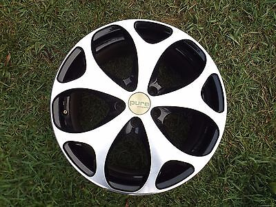 18 inch X 8 inch alloy wheels 5 stud set of 4 Cosmic brand made in Japan