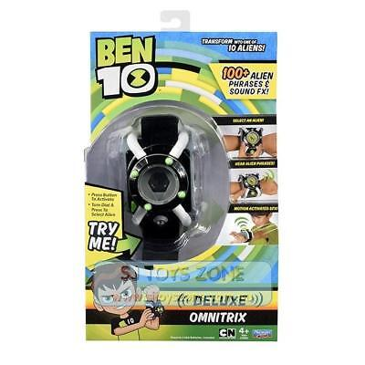Playmates Toys Ben 10 Deluxe Omnitrix Role Play Watch with Lights & Sounds