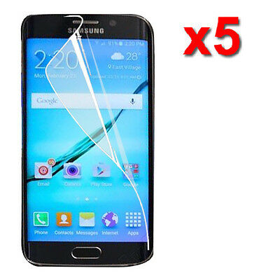 5X Crystal Clear LCD Screen Protector Film Guard For Samsung Galaxy Note 5