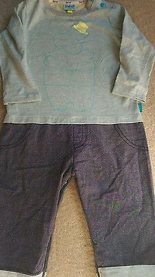 Baby Boys Ted Baker Outfit age 9-12 Months. New without tags