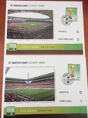 Grenada World Cup Covers and Miniature Sheets