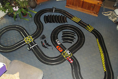 Huge SCALEXTRIC SPORT race set with 4 cars. Digital compatible.