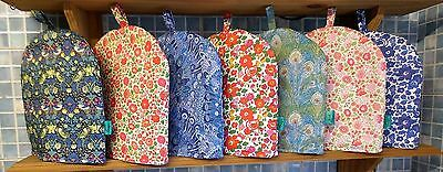 Large 8 cup cafetiere cosy / cosie. Liberty of London. 7 designs available