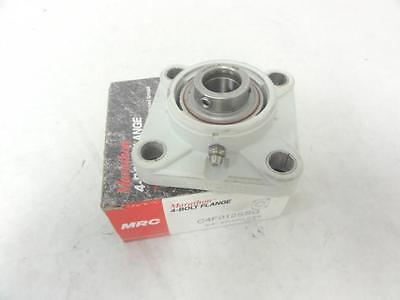 "143580 New In Box, MRC C4F012SSG Bearing 3/4"" ID SS Bearing, Composit Flange"
