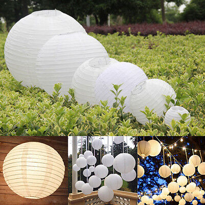 Chinese Paper Lantern Balloon Lamp Ball Light Party Supplies Decoration 7 Size