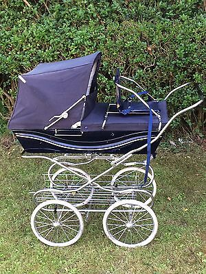 Silver Cross Classic Sleepover Vintage Carriage Single Seat Stroller