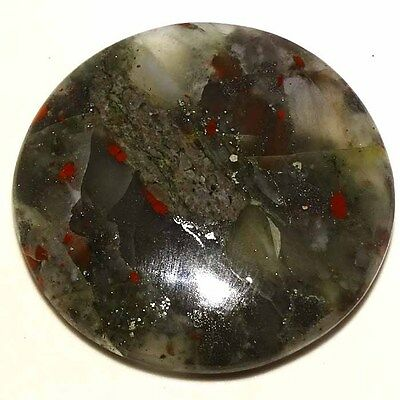 104.80Cts. 100 % NATURAL RED BLOOD STONE CABOCHON ROUND LOOSE GEMSTONES