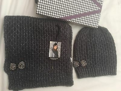 Women's Brand New Gift Boxed Scarf & Hat