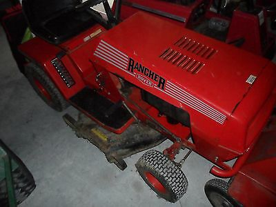 RIDE ON MOWER ROVER 30'' x2