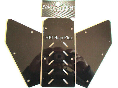 Boneheadrc Flux Windows, Version 5, Cnc Machined, Compatible With Hpi Baja Flux