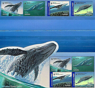 2006 Whales Down Under / set of 8 / muh.