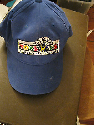 Vintage Rare Toys R Us Times Square New York baseball cap hat Yupoong