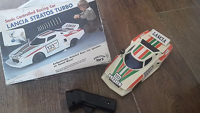 Sonic controlled racing car toy remote lancia stratos turbo eagleton toys