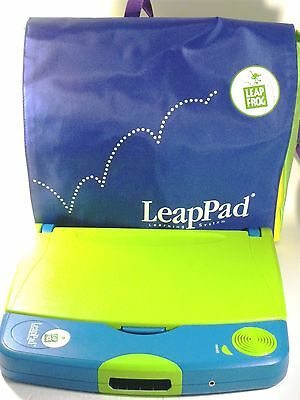 LeapPad Learning System with bag, 10 cartridge and 9 books