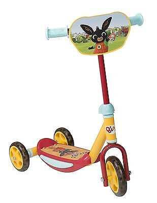 Bing 3 wheel scooter Children's Kids Toddler Boys Girls Toy First Time Riders
