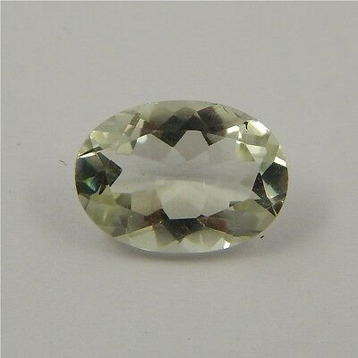 5.1 cts Natural Green Amethyst Gemstone Must See Loose Cut Faceted P#227-10