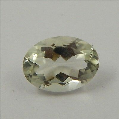 5.6 cts Natural Green Amethyst Gemstone Must See Loose Cut Faceted P#227-26