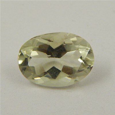 5.5 cts Natural Green Amethyst Gemstone Must See Loose Cut Faceted P#227-4