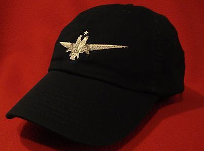 American Airlines Captain's Pilot Wings ball cap, NAVY-BLUE  low-profile hat